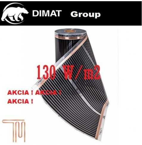 D510 Vykurovacia fólia :š. 100 cm , 130W/b.m , 130 W m2
